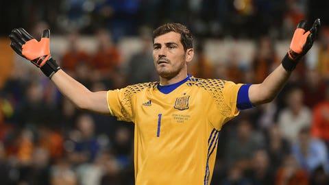 Iker Casillas (Porto and Spain)