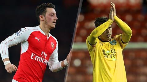 Arsenal vs. Burnley (Saturday, 10:00 a.m. ET, FS1)