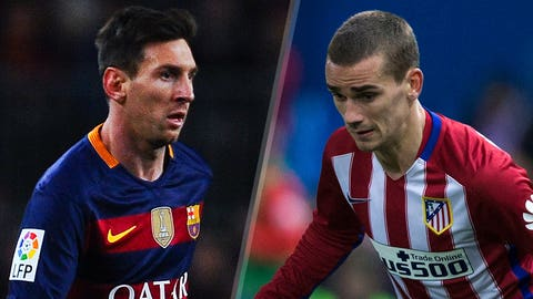 Barcelona vs. Atletico Madrid (Saturday, 10 a.m. ET, beIN)