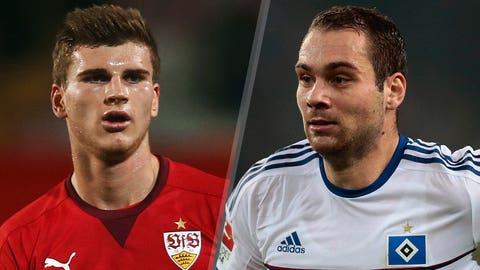 Stuttgart vs. Hamburg (Saturday, 12:30 p.m. ET, FOX)