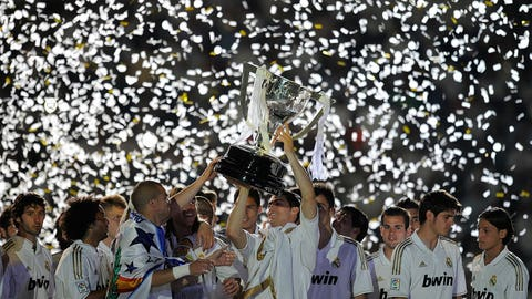 Winning La Liga with Real Madrid (May 13, 2012)