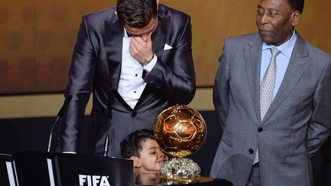 Second Ballon d'Or (Jan. 13, 2014)