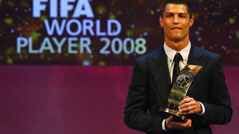 FIFA World Player of the Year (Jan. 12, 2009)