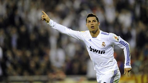 Game-winner vs. Barcelona in Copa del Rey final (April 20, 2011)