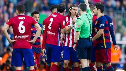 Dud: Filipe Luis (Atletico Madrid)