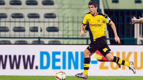 American Pulisic makes his mark