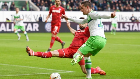 Wolfsburg's slump is a worry