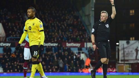 DUD: Jordan Ayew (Aston Villa)