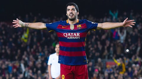 STUD: Luis Suarez (Barcelona)