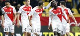 Bakayoko late goal lifts Monaco over Nice; Lyon thrash 10-man Angers