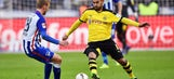 Hertha hold second-placed Dortmund to goalless draw