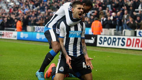 Vital three points for Newcastle