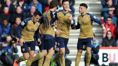 Stud: Mesut Ozil (Arsenal)