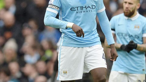 DUD: Yaya Toure, Manchester City
