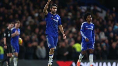 Stud: Diego Costa (Chelsea)