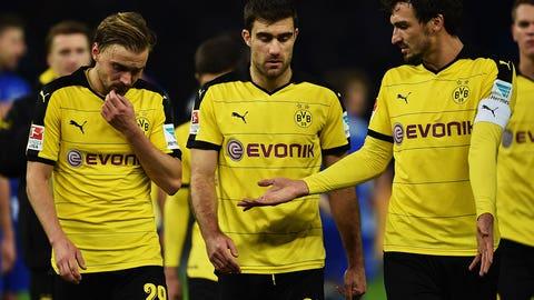 Borussia Dortmund stumble in Berlin