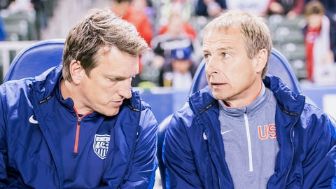 December 13, 2013: Klinsmann's contract is extended through 2018