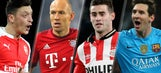 Studs and Duds: Messi, Robben remain impossible to stop