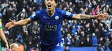 Leicester go five points clear with late Norwich win
