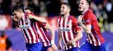 Atletico edge PSV on penalties to reach Champions League quarters