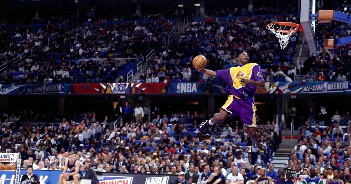 Tbt 20 Years Ago Kobe Bryant Won The Dunk Contest As An