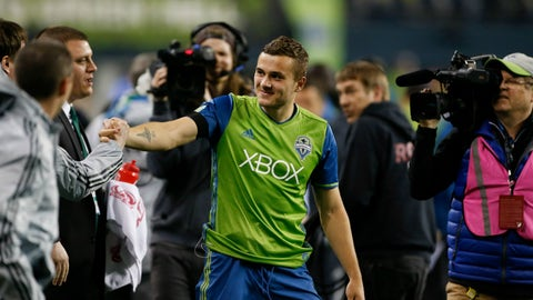 Jordan Morris turns out to be ready for primetime