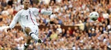 David Beckham's 5 most memorable free kick goals