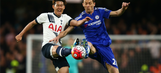 Tottenham hand Premier League title to Leicester with testy draw at Chelsea