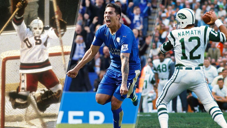Leicester City and the best underdog stories in sports