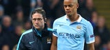 Man City boss Pellegrini in dark over Vincent Kompany injury woes