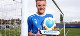 Jamie Vardy scoops Premier League player of the season award