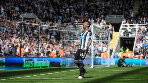 Newcastle United - €34 million