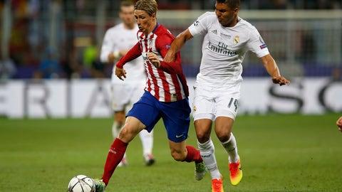 Defensive midfielder - Casemiro