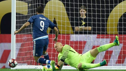 An embarrassing outing vs. Messi's Argentina, but a successful finish