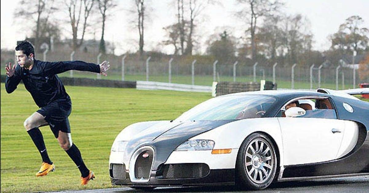 My Pittsburgh Steeler Themed Bugatti Veyron: Cristiano Ronaldo Got Himself A Bugatti Veyron As A