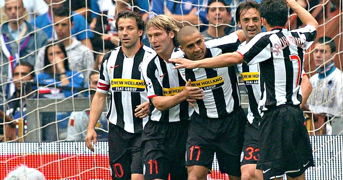 10 years ago today, Juventus were relegated from Serie A