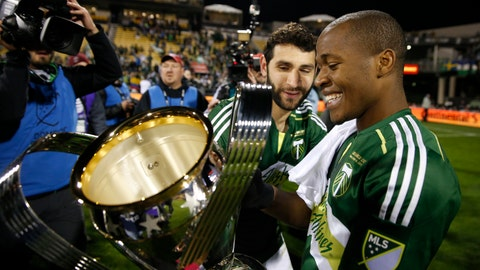"Timbers win an MLS Cup and announce: ""(Bleep) Seattle!"""