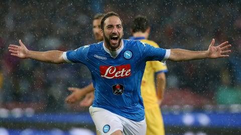 Gonzalo Higuain: Napoli to Juventus, €90 (2016)