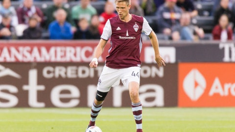 Colorado Rapids: Axel Sjoberg
