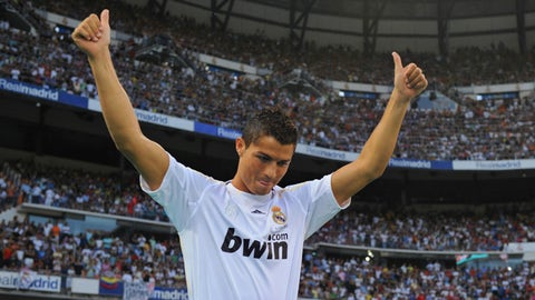 Cristiano Ronaldo: Manchester United to Real Madrid, €94M (2009)