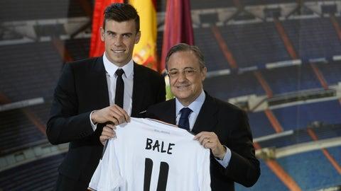 Gareth Bale: Tottenham to Real Madrid, €100.8M (2013)