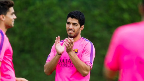 Luis Suarez: Liverpool to Barcelona, €81.7M (2014)