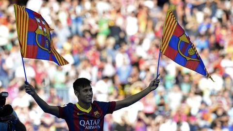 Neymar: Santos to Barcelona, €86.2M (2013)