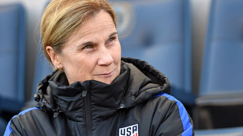 Is coach Jill Ellis considering a formation shift?