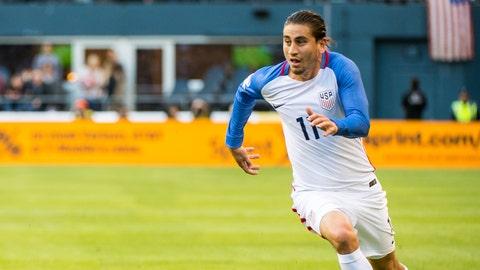 Right midfield: Alejandro Bedoya