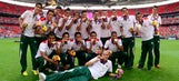What happened to Mexico's Olympic gold medal winning team?