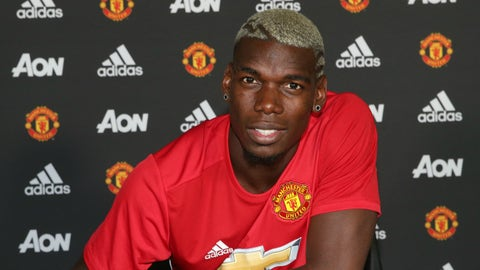 Paul Pogba: Juventus to Manchester United, €105M, (2016)