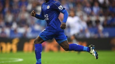 Central midfield - N'Golo Kante