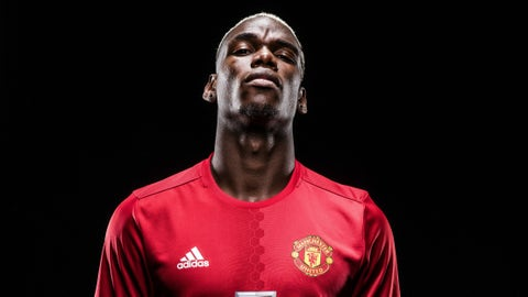 Center midfield - Paul Pogba