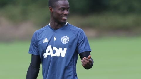 Center-back - Eric Bailly